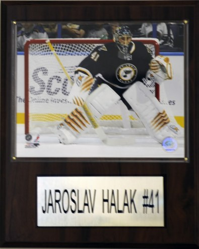 "St. Louis Blues Jaroslav Halak 12"" x 15"" Player Plaque"