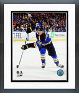 St. Louis Blues Jori Lehtera Action Framed Photo