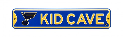 St. Louis Blues Kid Cave Street Sign
