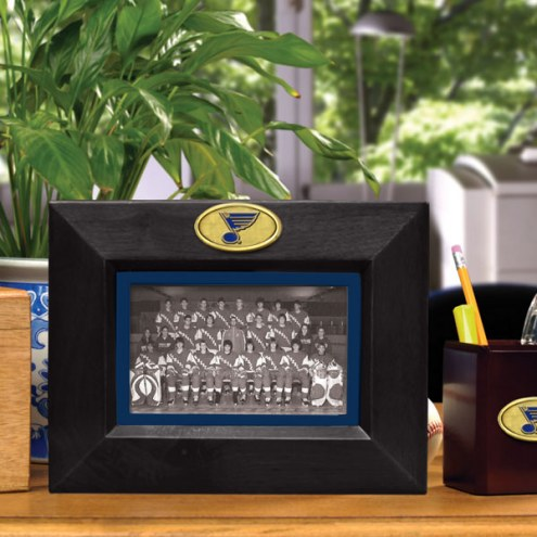 St. Louis Blues Landscape Picture Frame