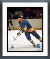 St. Louis Blues Larry Patey Action Framed Photo