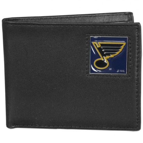 St. Louis Blues Leather Bi-fold Wallet