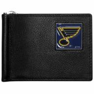 St. Louis Blues Leather Bill Clip Wallet