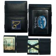 St. Louis Blues Leather Jacob's Ladder Wallet