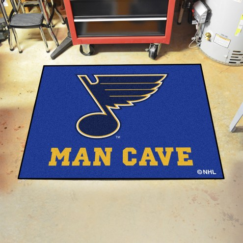 St. Louis Blues Man Cave All-Star Rug