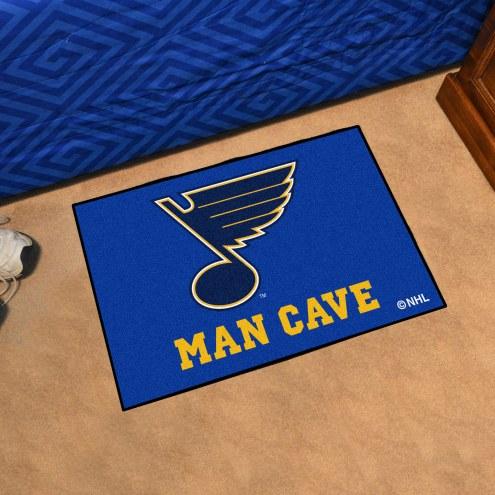 St. Louis Blues Man Cave Starter Mat