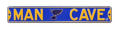 St. Louis Blues Man Cave Street Sign
