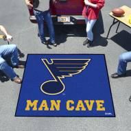 St. Louis Blues Man Cave Tailgate Mat