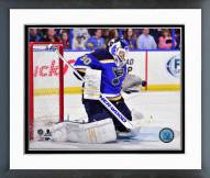 St. Louis Blues Martin Brodeur Action Framed Photo