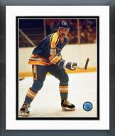 St. Louis Blues Mike Zuke Action Framed Photo