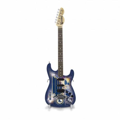 St. Louis Blues Mini Collectible Guitar