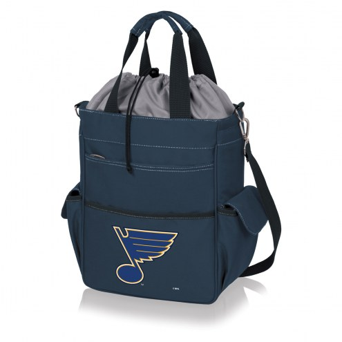 St. Louis Blues Navy Activo Cooler Tote