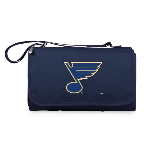 St. Louis Blues Navy Blanket Tote