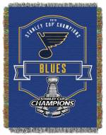 St. Louis Blues NHL 2019 Stanley Cup Champions Throw Blanket