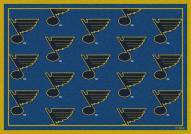 St. Louis Blues NHL Repeat Area Rug