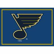 St. Louis Blues NHL Team Spirit Area Rug