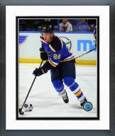 St. Louis Blues Paul Stastny Action Framed Photo