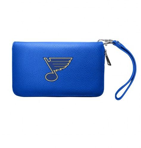 St. Louis Blues Pebble Organizer Wallet