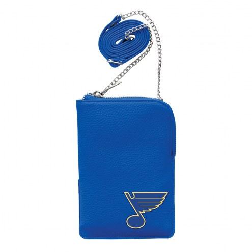 St. Louis Blues Pebble Smart Purse