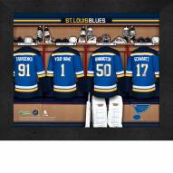 St Louis Blues Personalized 11 x 14 Framed Photograph