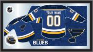 St. Louis Blues Personalized Jersey Mirror