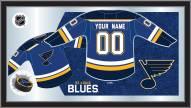 St. Louis Blues Personalized Jersey Mirror