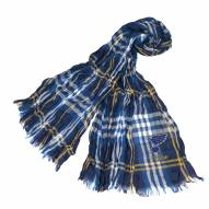 St. Louis Blues Plaid Crinkle Scarf