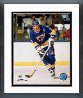 St. Louis Blues Rob Ramage Action Framed Photo