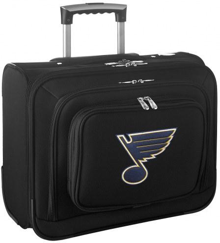 St. Louis Blues Rolling Laptop Overnighter Bag
