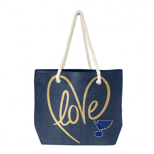 St. Louis Blues Rope Tote