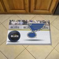 St. Louis Blues Scraper Door Mat