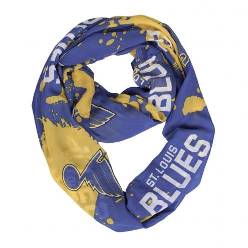 St. Louis Blues Silky Infinity Scarf