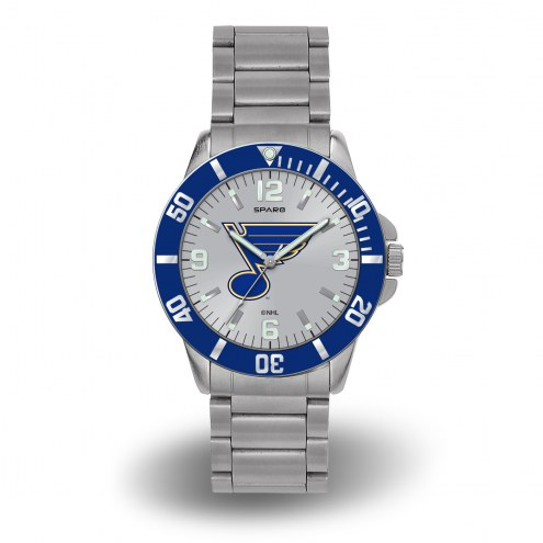 St. Louis Blues Sparo Men's Key Watch