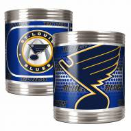St. Louis Blues Stainless Steel Hi-Def Coozie Set