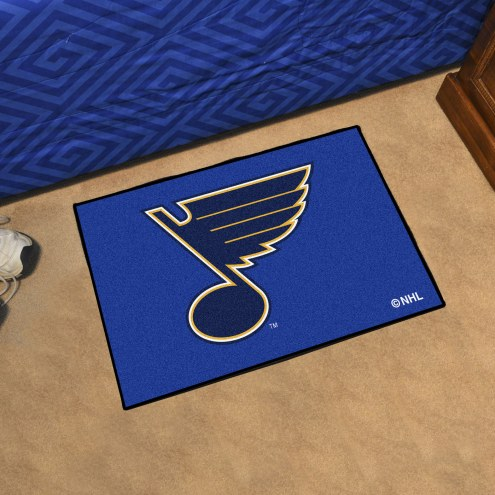St. Louis Blues Starter Rug