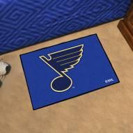 St. Louis Blues Starter Rug