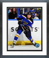 St. Louis Blues Steve Ott Action Framed Photo