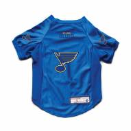 St. Louis Blues Stretch Dog Jersey