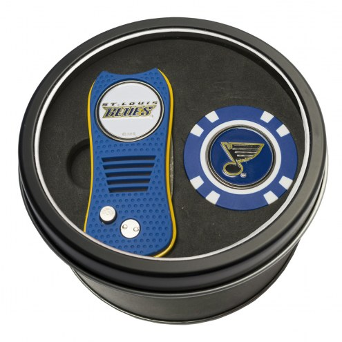 St. Louis Blues Switchfix Golf Divot Tool & Chip
