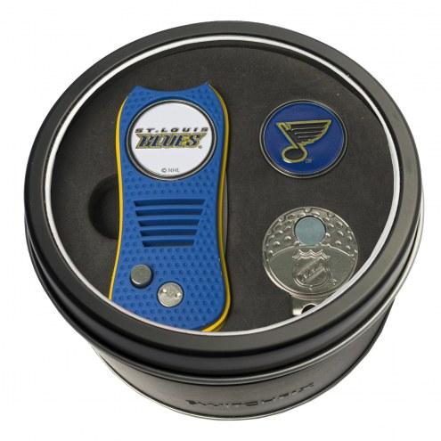 St. Louis Blues Switchfix Golf Divot Tool, Hat Clip, & Ball Marker
