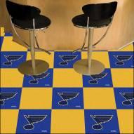 St. Louis Blues Team Carpet Tiles