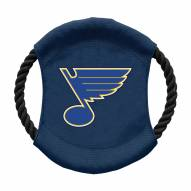 St. Louis Blues Team Frisbee Dog Toy