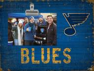 St. Louis Blues Team Name Clip Frame