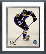 St. Louis Blues Troy Brouwer Action Framed Photo