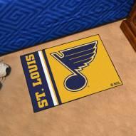 St. Louis Blues Uniform Inspired Starter Rug