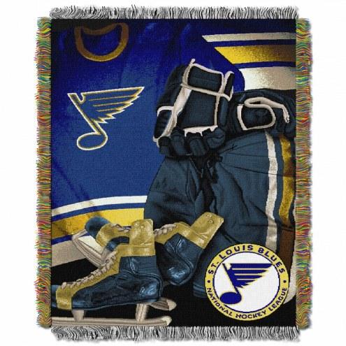 St. Louis Blues Vintage Throw Blanket