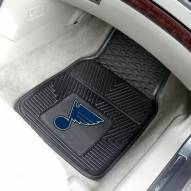 St. Louis Blues Vinyl 2-Piece Car Floor Mats