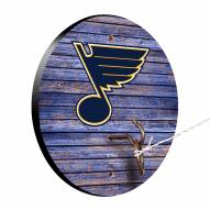 St. Louis Blues Weathered Design Hook & Ring Game