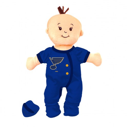 St. Louis Blues Wee Baby Team Doll