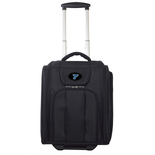 St. Louis Blues Wheeled Business Tote Laptop Bag